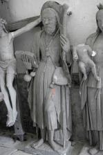 Bernouil - Statue pierre XVIe s.