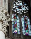Choeur - baies hautes XIIIe s. St Jacques et un prophète
