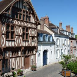 Maison à pans de bois à Joigny