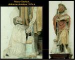 Neuvy-Sautour - Statue, pierre peinte, XVIe s.