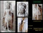 Poinchy - Statue, pierre, XVIe s.