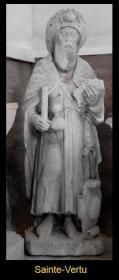 Sainte-Vertu - Statue, pierre, XVIe s.