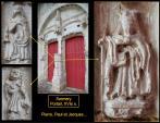 Sormery - Détails du portail, XVIe s.
